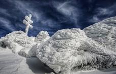 Varázslatos, mit okozott a fagy és a szél az Alacsony-Tátrában