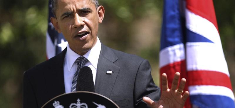 Obama Londonban: a nemzetközi közösség nem az iszlám ellen harcol