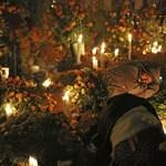 Gyásszal vagy ünneppel, de elvesztett szeretteire emlékszik a világ – Nagyítás képgaléria