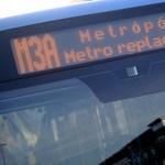 Így indult a metrópótlás – sok fontos információ a Váci útról