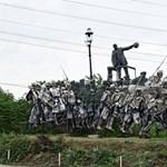 Kolumbuszra is Osztapenko sorsa vár? Külföldön dicsérik a budai Memento Parkot