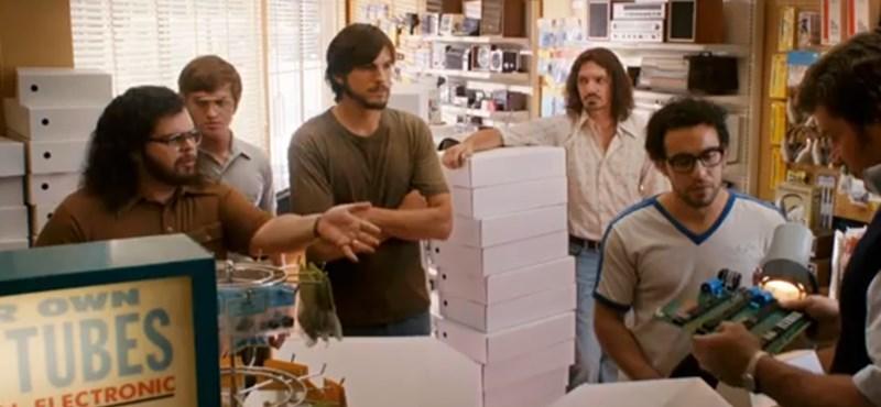 Itt a Jobs film hivatalos előzetese