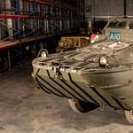 Eladó egy második világháborús partraszálló jármű