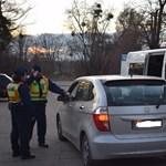 Schengen-buszt teszteltek az M1-esen