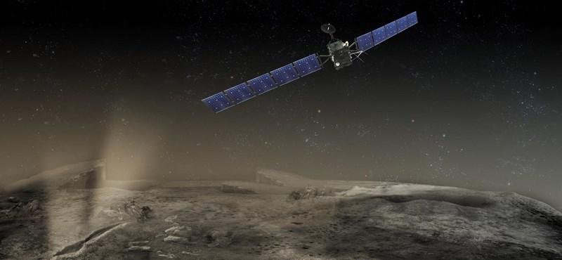 Ma belecsapódik egy üstökösbe a Rosetta űrszonda