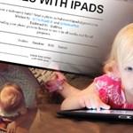 Blogszemle - babák és iPad
