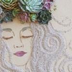 Megőrülnek az emberek a virágból készített faliképkért