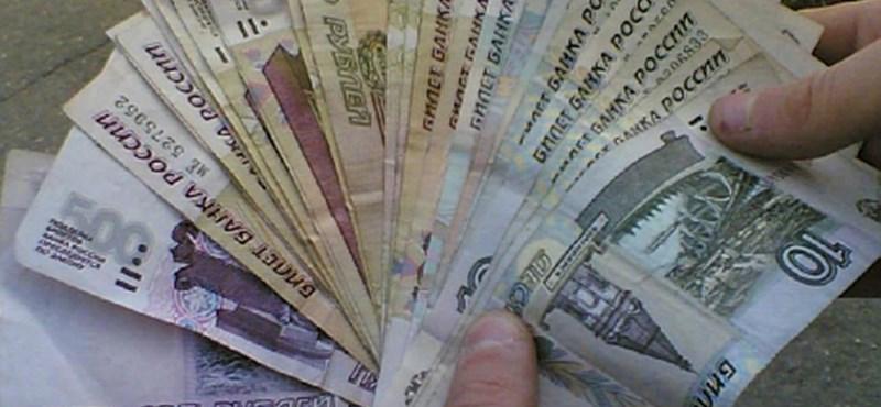 Átlagosan 400 ezer forinttal vesztegetnek az oroszok