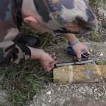 Fotó: Ezt a gránátot hatástalanították a Sas-hegyen