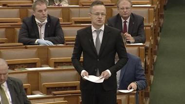 Szijjártó: A nemzetközi liberális mainstream ismételten össztűz alá vette Magyarországot