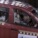 Elképesztően veszélyes: nulla csillagot kapott ez az autó a törésteszten
