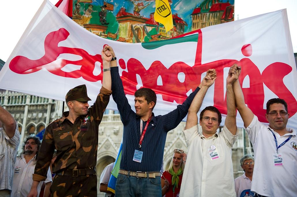 Szakszervezeti tüntetés, Szolidarítás mozgalom
