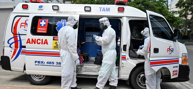 Kolumbiában a koronavírus már a belügyminisztériumban van