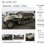 Nem vicc: még hernyótalpas német harckocsi is van eladó a neten
