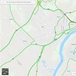 12 kilométeres a dugó az M0-s déli szakaszán