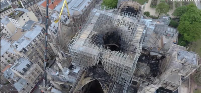 Még mindig mérgező a levegő a Notre-Dame körül