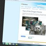 Letölthető a Year of the Dragon téma a Microsofttól