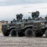 Beültünk a Magyar Honvédség elrettentő új terepjárójába – fotógaléria