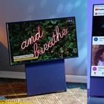 A Samsungnak van egy tévéje, amely függőlegesen is nézhető