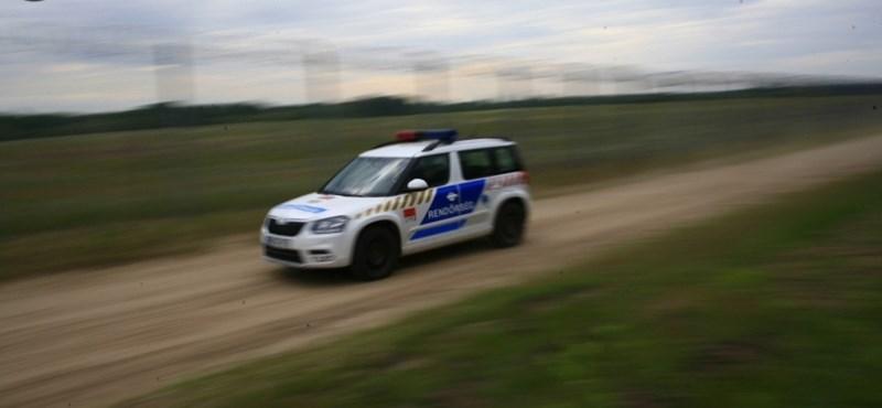 Autós üldözés volt Pécsen, lövés is dördült