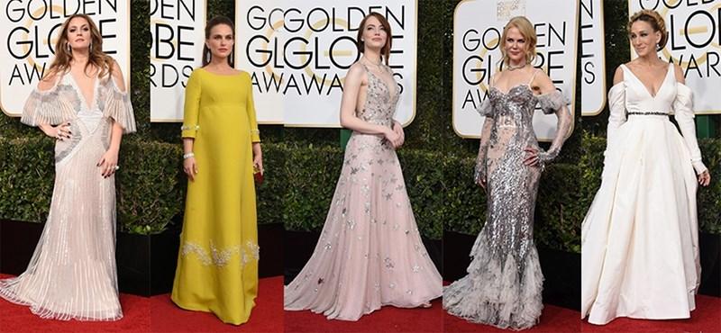 Most ön dönt: ki volt a legcsinosabb a Golden Globe-gálán?