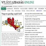VG: 21 pontos listát kapott a kormány a kockázati tőkésektől