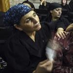 Szívszaggató fotó mutatja be a koptok drámáját