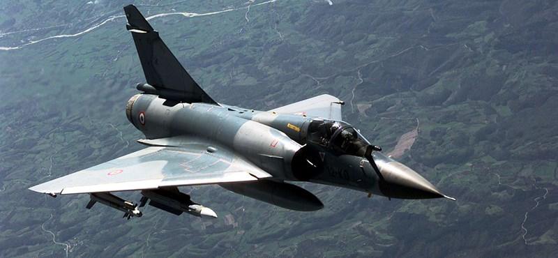 Lezuhant egy francia Mirage
