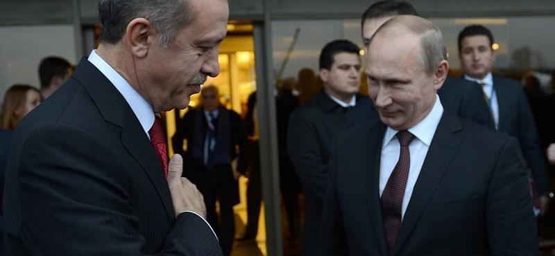 Török puccskísérlet - Putyin Erdogan melett