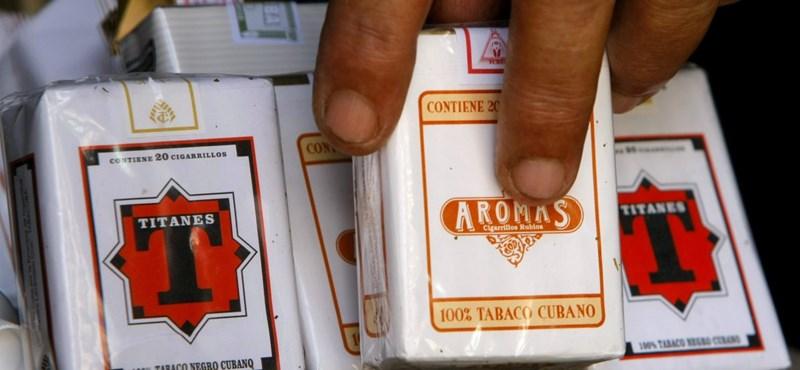 Kilencmilliós cigarettafogás a magyar-ukrán határon