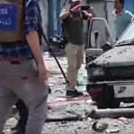 Egész Kabul beleremegett a vasárnapi robbantás-sorozatba