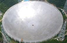 Kína beveti 500 méter átmérőjű teleszkópját, hogy életjelet keressen a Földön kívül