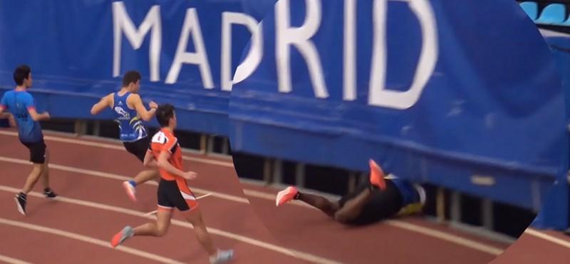 Ilyen az, amikor egy győzelem után egy sportoló egyből eltűnik a süllyesztőben