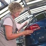 A német Audi-központot is megbénították a Győrben sztrájkolók