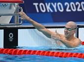 László Cseh, Milák, quien terminó séptimo en los Juegos Olímpicos, Milac terminó 100 mariposa en un gran tiempo, minuto a minuto en los Juegos Olímpicos de Tokio.