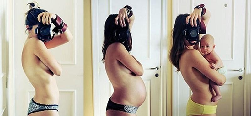 A terhesség ragályos, és erről a Facebook tehet