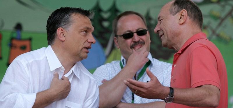 Orbán kétszer mentette meg a bukástól, Basescu most mégis cserbenhagyta
