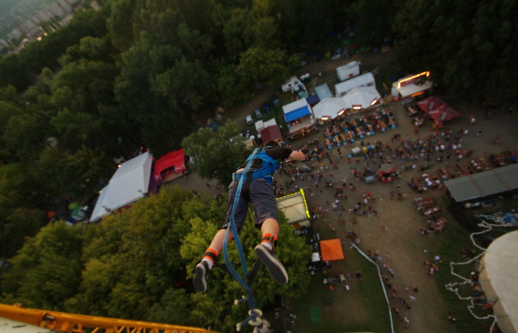 Sziget 2011, bungee