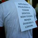 """Nagyítás: """"lemerevedtek"""" a közoktatási törvény ellen tiltakozó tanárok"""