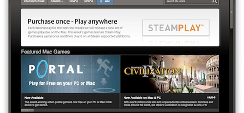 Jó hír a játékosoknak: felturbózták a Steamet!