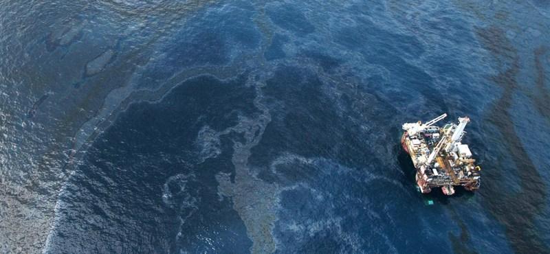 Olajkatasztrófa - az USA nem robbant atomot
