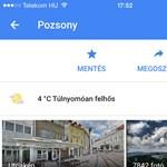 Remek újításokkal frissítették a Google Mapset