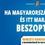 Botrányos konzultációs plakátterv: a kormányszóvivő nem tagad