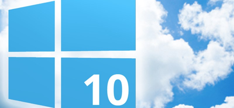 Heti TOP: töltse le a Windows 10-et ingyen