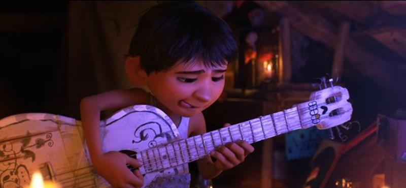 Mexikói gitáros kisfiúról szól a Pixar új meséje – előzetes