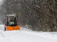 Van, ahol 20 centis hó is eshet hétfőn, viharos szélre is figyelmeztetnek a meteorológusok