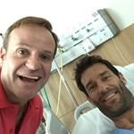 Barrichello lőtte a hétfői nap legütősebb szelfijét