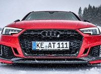 Heves havas: Hóban debütált az 530 lovas Audi sportkombi