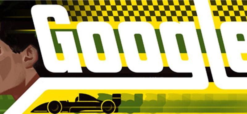 Most lenne 54 éves Ayrton Senna, ő lesz holnap a Google logójában