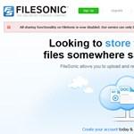 Letiltotta a fájlmegosztást a FileSonic